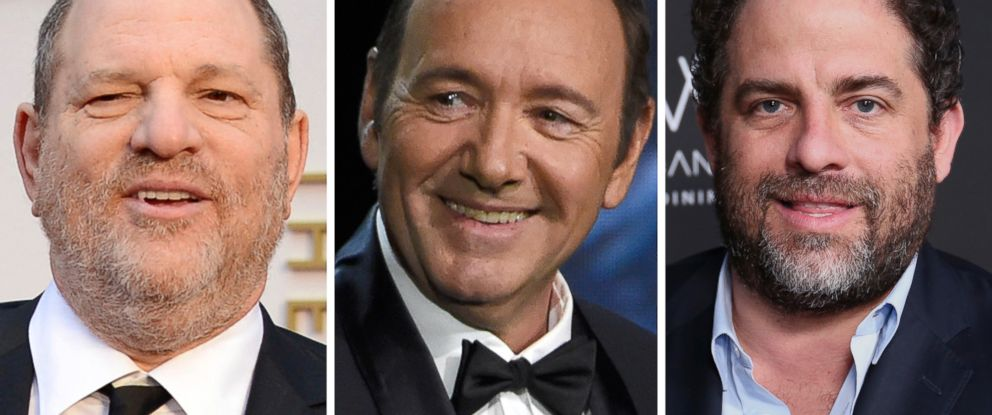 PHOTO: Harvey Weinstein, Kevin Spacey and Brett Ratner are all facing allegations of sexual misconduct.