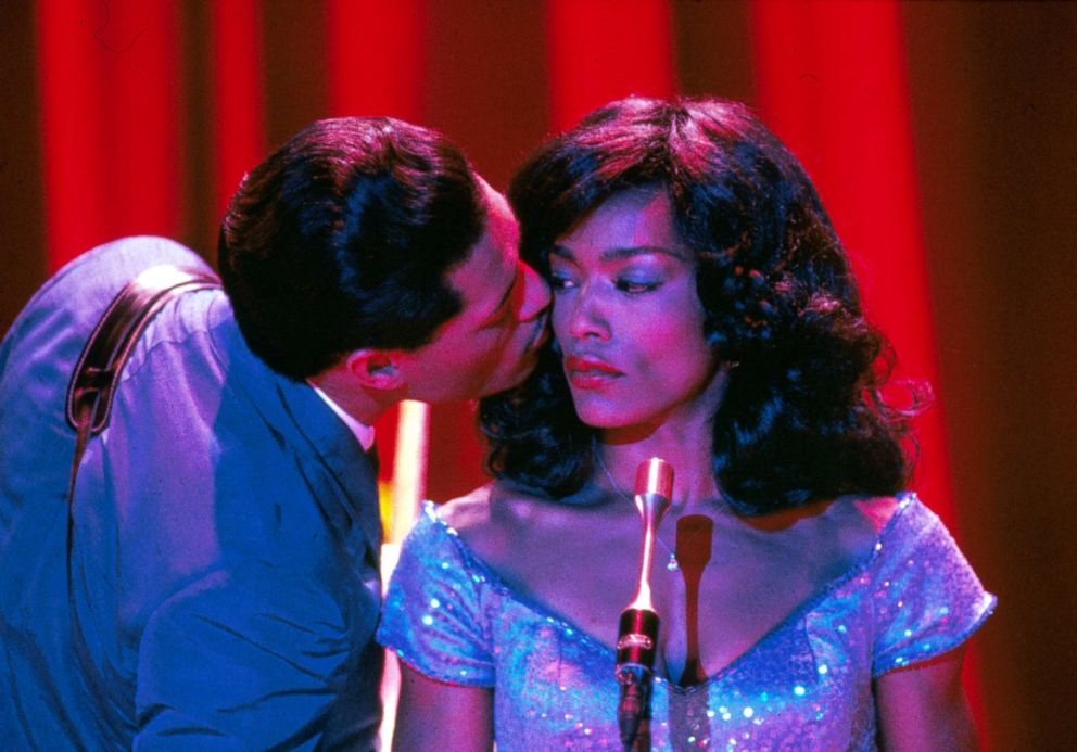PHOTO: Angela Bassett and Laurence Fishburne star in a scene from the 1993 film, Whats Love Got to Do with It.
