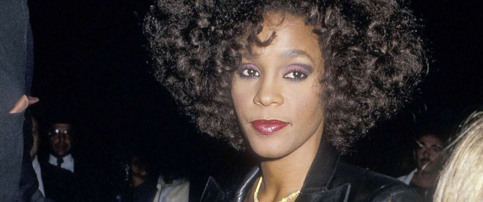 PHOTO: In this file photo, singer Whitney Houston attends a private party after her concert performance at Madison Square Garden, Sept. 10, 1987, aboard the Princess Yachts, World Yacht Club in New York City.