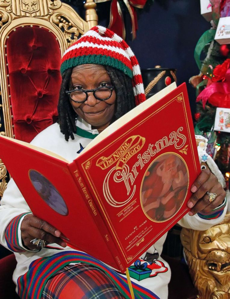 PHOTO: For me the holidays represent magic, Whoopi Goldberg told ABC News Nightline.