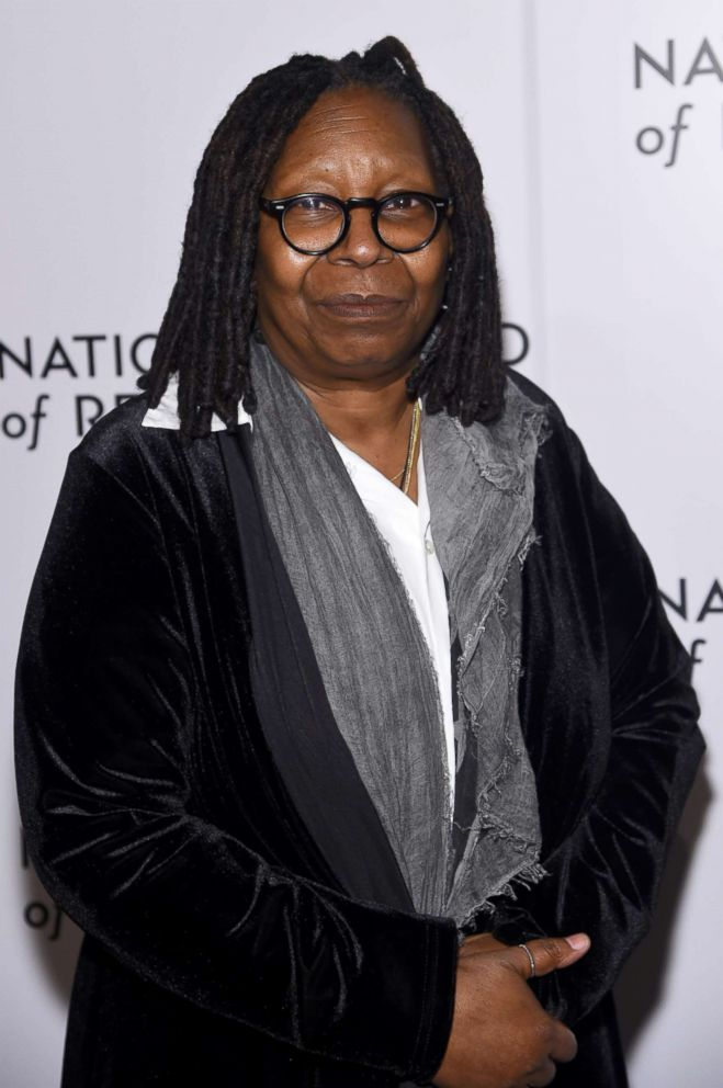 PHOTO: Whoopi Goldberg attends the National Board of Review Annual Awards Gala at Cipriani 42nd Street on Jan. 9, 2018 in New York.