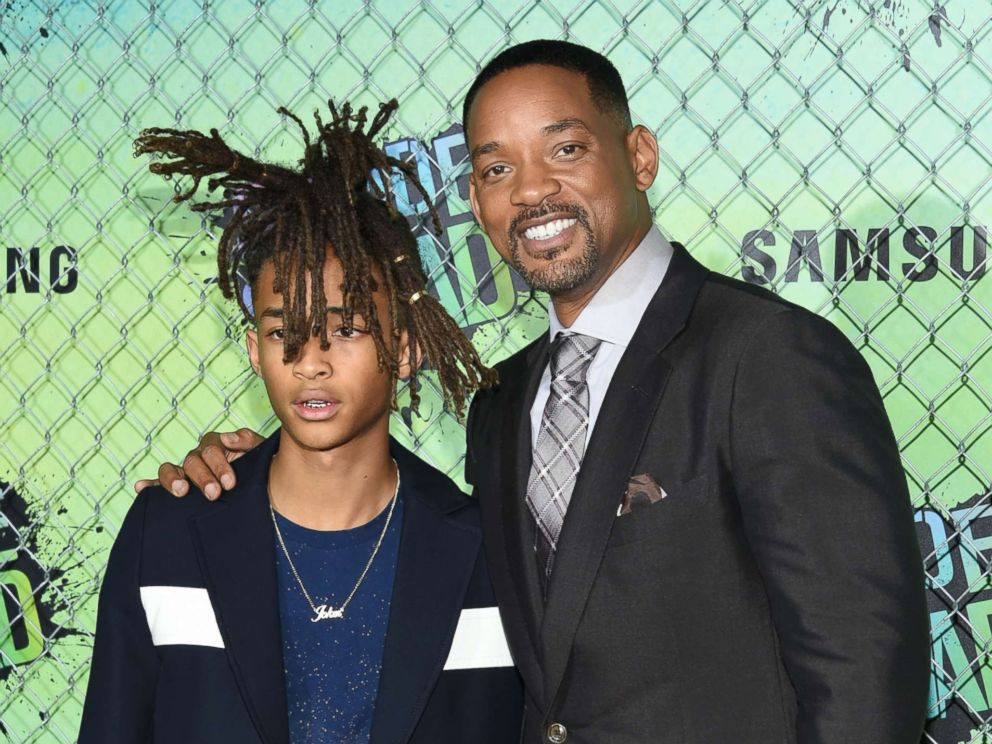 PHOTO: Jaden Smith and Will Smith attend the world premiere of Suicide Squad at the Beacon Theatre, Aug. 1, 2016, in New York.