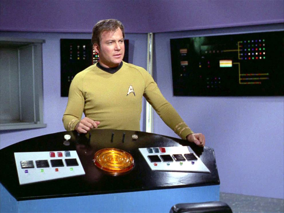 PHOTO: William Shatner as Captain James T. Kirk on the Star Trek: The Original Series episode, Whom Gods Destroy, originally aired Jan. 3, 1969.