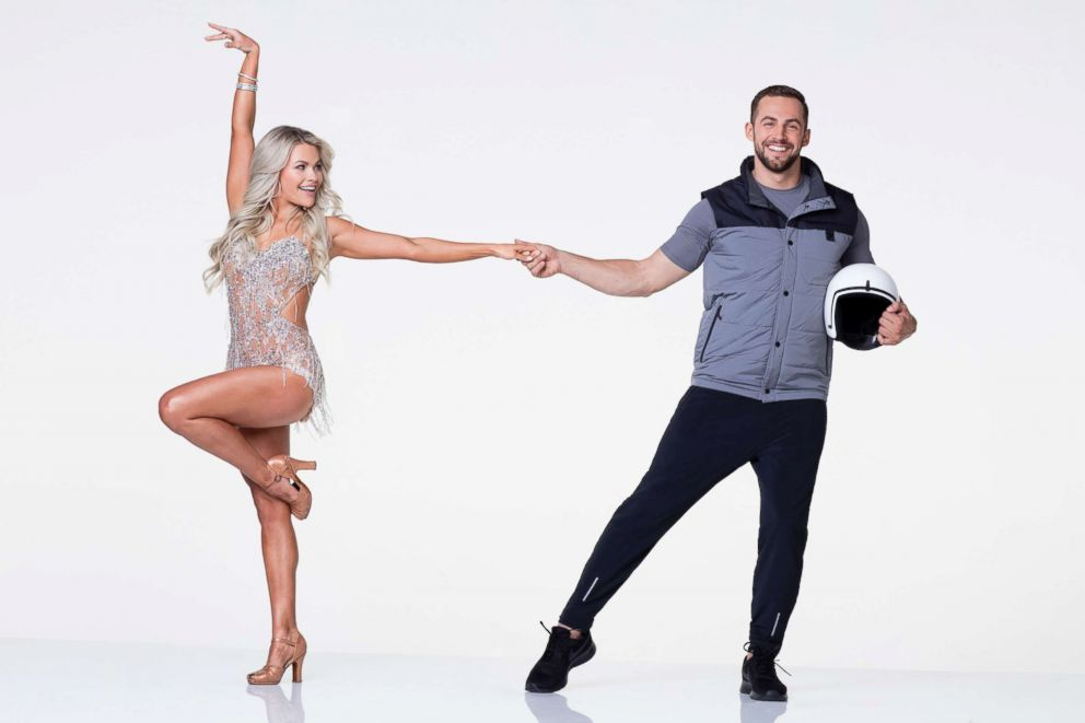 PHOTO: Olympic luger Chris Mazdzer is hitting the dance floor with pro Witney Carson.