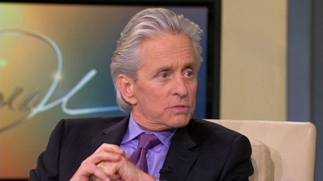 VIDEO: Michael Douglas tells Oprah Winfrey why his wife went public about her bipolar disorder.