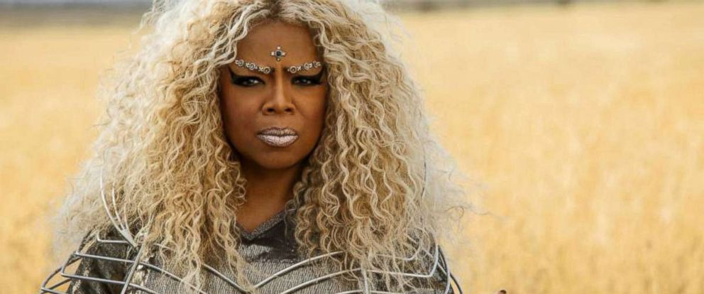 "PHOTO: Oprah Winfrey in a scene from ""A Wrinkle in Time."""