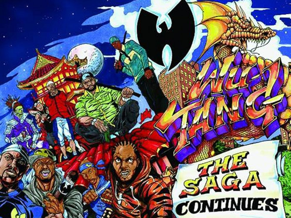 PHOTO: Wu-Tangs new album The Saga Continues was released, Oct. 13, 2017.