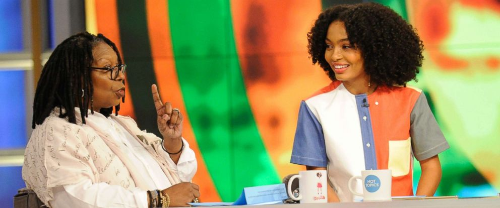 "PHOTO: Yara Shahidi joined ""The View"" to discuss her new show, ""Grown-ish"" on Jan. 3, 2018."