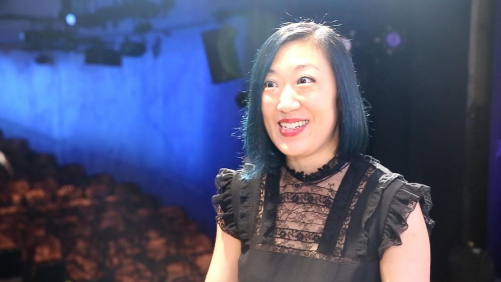 PHOTO: Lee became the first Asian-American female playwright to have a show on Broadway. Her comedy Straight White Men is playing at the Helen Hayes Theater.