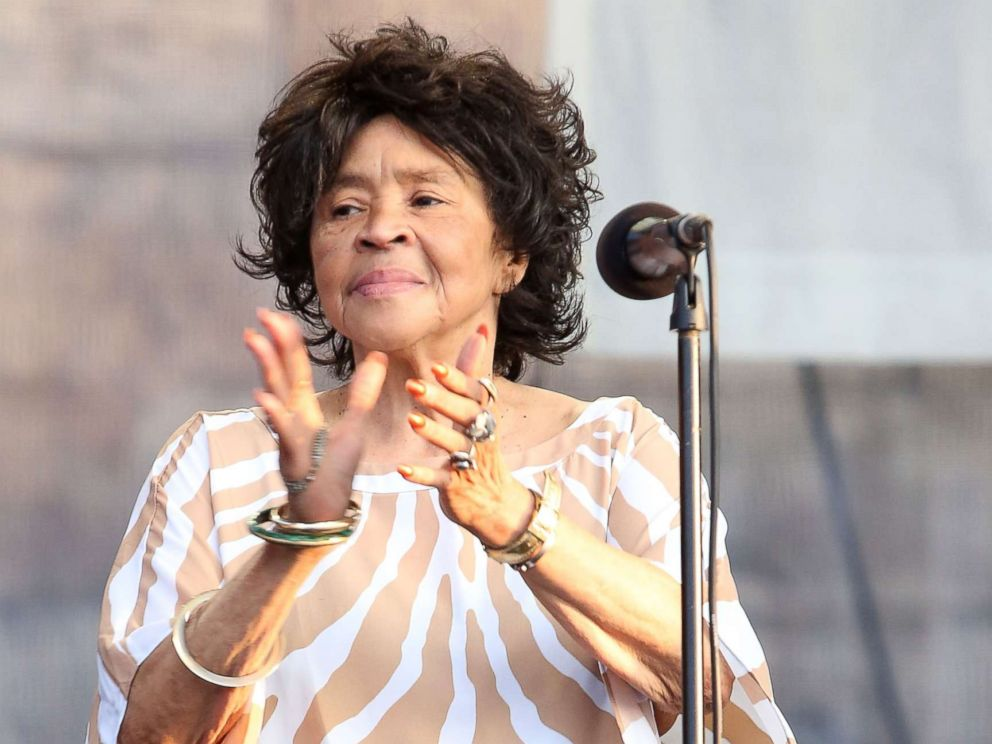 PHOTO: Yvonne Staples performs during the 2014 Newport Folk Festival at Fort Adams State Park on July 27, 2014 in Newport, Rhode Island.