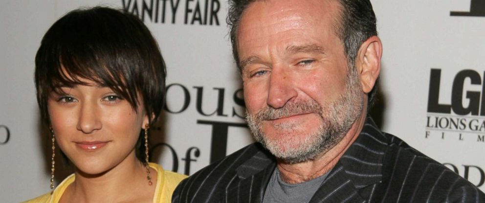 "PHOTO: Zelda Williams and Robin Williams attend ""House of D"" New York Premiere at Loews Lincoln Square, April 10, 2005 in New York City."