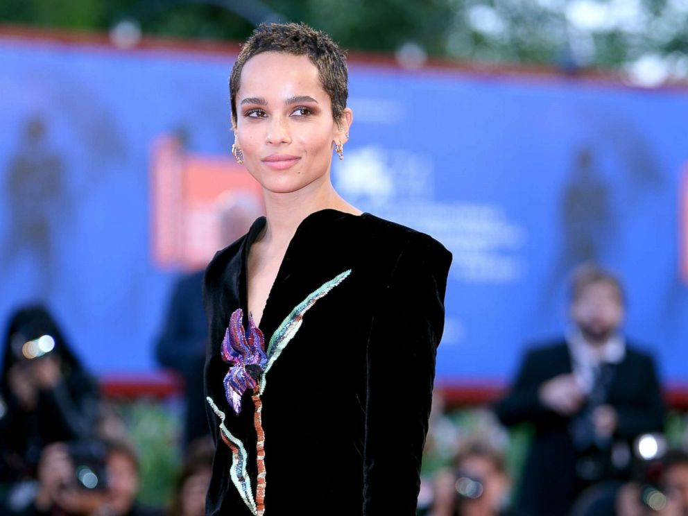 PHOTO: Zoe Kravitz attends the premiere of Racer And The Jailbird (Le Fidele) at the 74th Venice Film Festival, Sept. 8, 2017, in Venice, Italy.