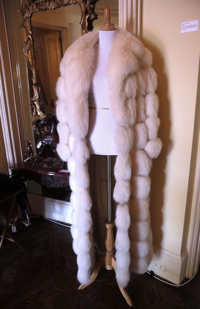 PHOTO: A fur coat belonging to the late Hungarian-American actress Zsa Zsa Gabor is displayed at the Hello Dal-ling: The Estate of Zsa Zsa Gabor auction by Heritage Auctions at the actress residence in Bel Air, Calif., April 12, 2018.