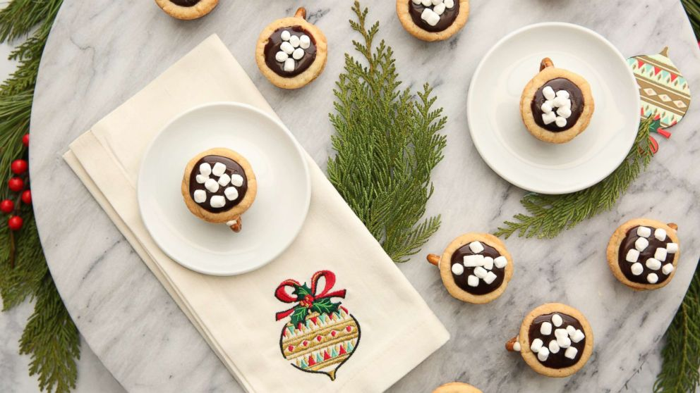 25 Days Of Cookies Hot Chocolate Cookie Cups Recipe Gma