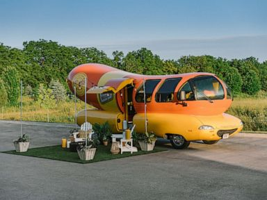 Hot dog fans can relish a stay in the Oscar Mayer Wienermobile with Airbnb