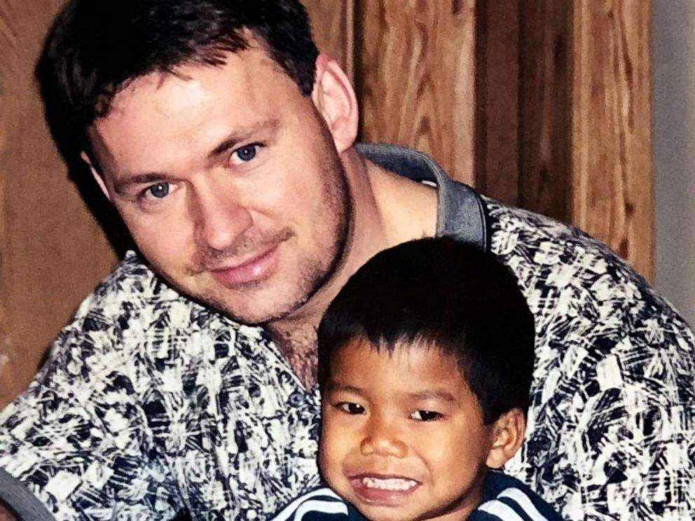 PHOTO: Jerry Windle poses with his son Jordan Windle, whom he adopted when Jordan was 18-months-old.