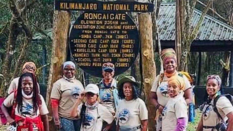 Black women make history, find sisterhood while climbing Mount Kilimanjaro