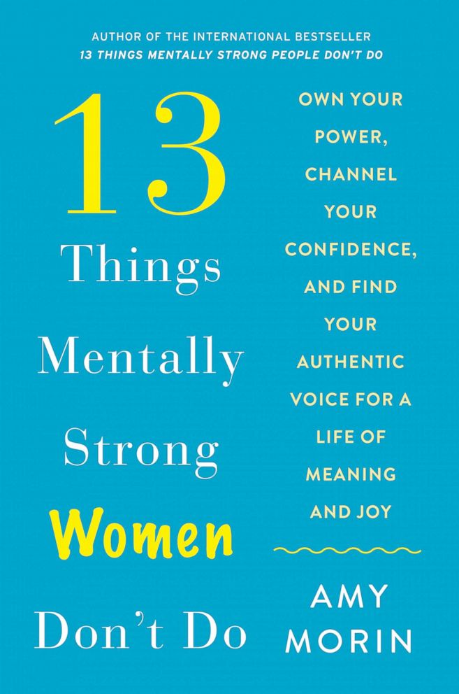 PHOTO: Amy Morin is out with a new book, 13 Things Mentally Strong Women Dont Do.