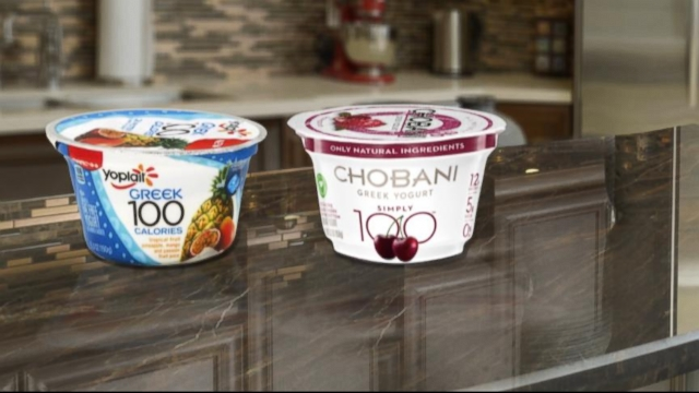 VIDEO: Greek yogurt titans will fight for your attention with their Super Bowl commercials.
