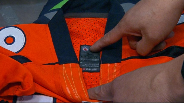 VIDEO: Beware Fake NFL Gear and Super Bowl Tickets