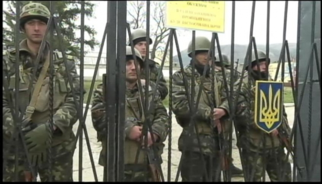 Russians Seize More Crimean Facilities, Demand Ukrainians Surrender