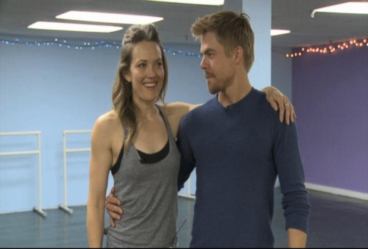 VIDEO: Paralympic Snowboarder Joins DWTS Cast