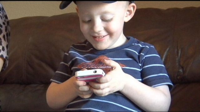 VIDEO: Toddler Uses Smartphone to Save Moms Life