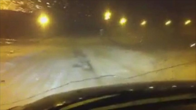 VIDEO: Aleksandar Joksic goes to great lengths to deliver pizza in Barrow, Alaska, where temperatures can reach -40 degrees.