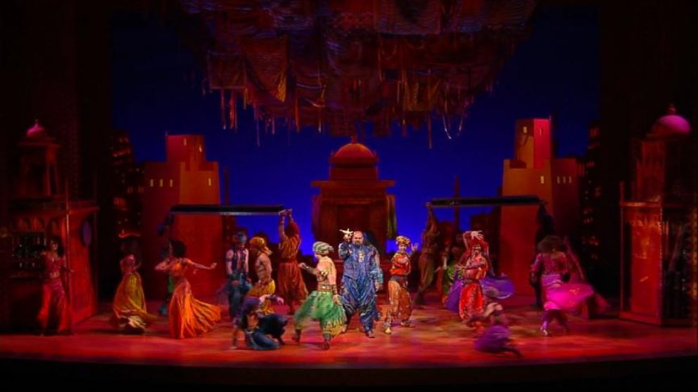 Now Playing Go Behind The Scenes Of Disneys Aladdin On Broadway