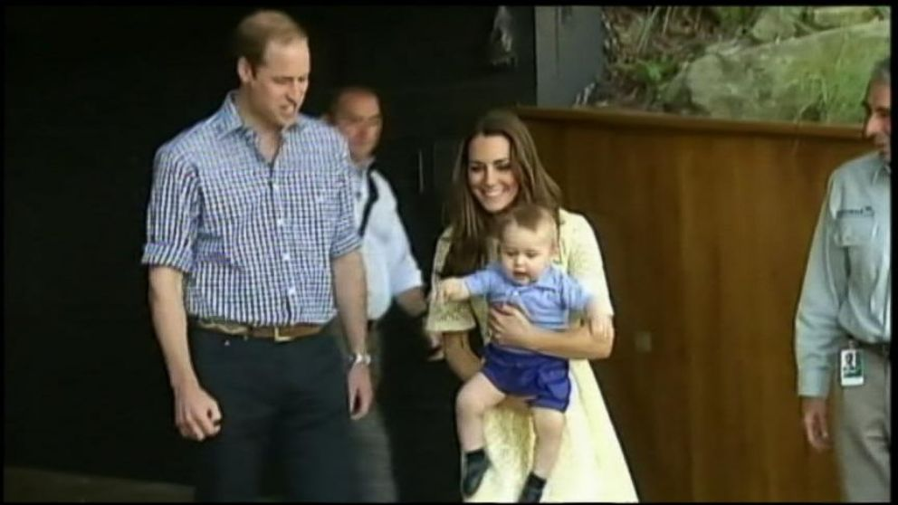 Prince George Squeals With Delight Upon Meeting Bilby Named After Him