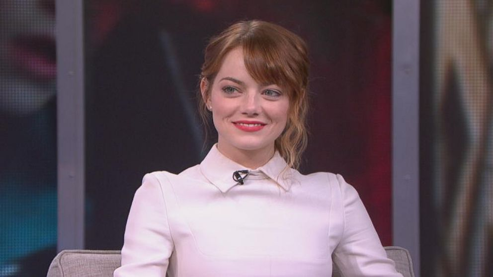 """VIDEO: Actress discusses playing Gwen Stacy in """"The Amazing Spider-Man 2"""" opposite Andrew Garfield."""