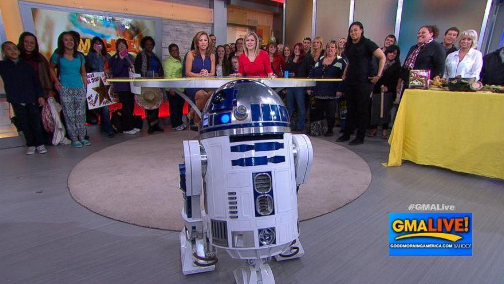 R2D2: 'Beep, Bop, Whoaaaaaaa!'
