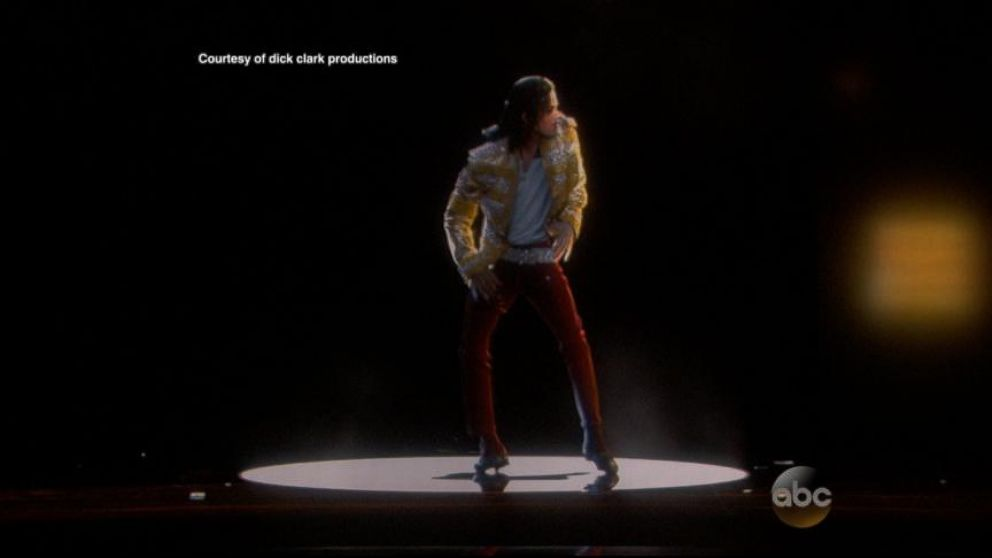 VIDEO: The hologram performance wowed the audience at the Las Vegas awards ceremony.
