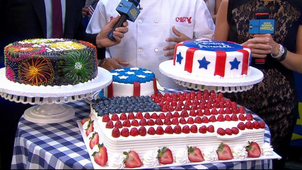 Buddy Valastro S 4th Of July Cakes Video Abc News