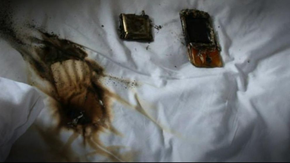Teen's Cell Phone Catches On Fire