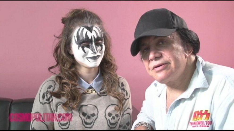Gene Simmons Reveals Trademark 'Kiss' Makeup Secrets