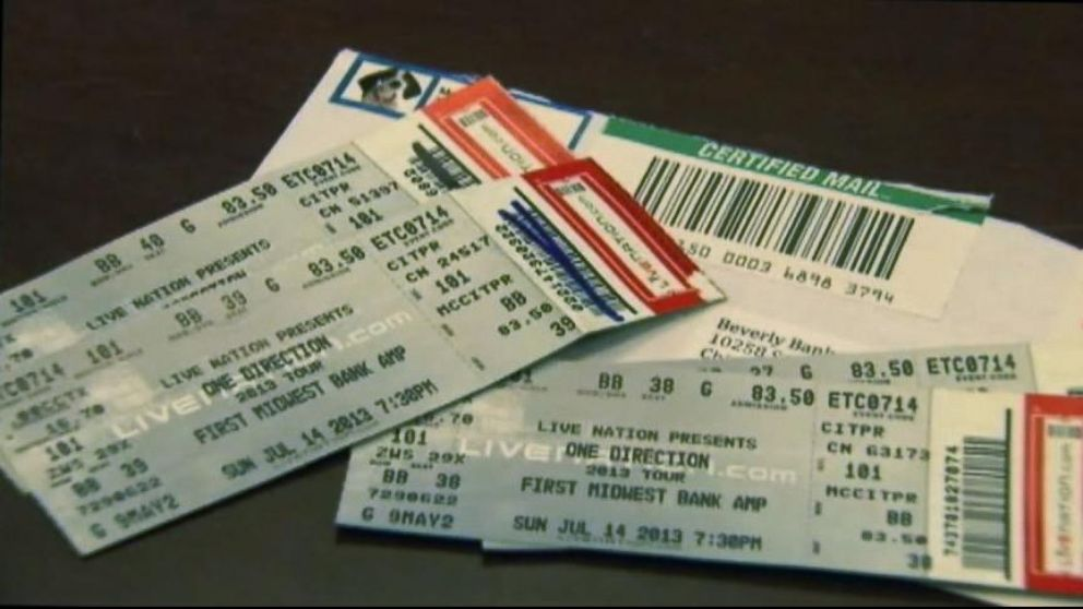 Good Morning America Live Tickets : How to avoid counterfeit concert tickets video abc news