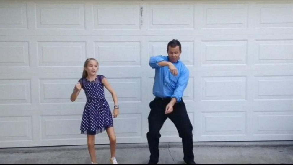 gma dance off daddy daughter edition meet two semi finalists