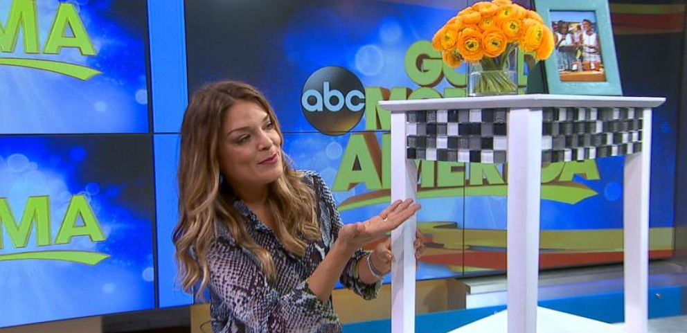 VIDEO: DIY Tutorial: Upgrade a Basic Nightstand With Tile for a Chic Look