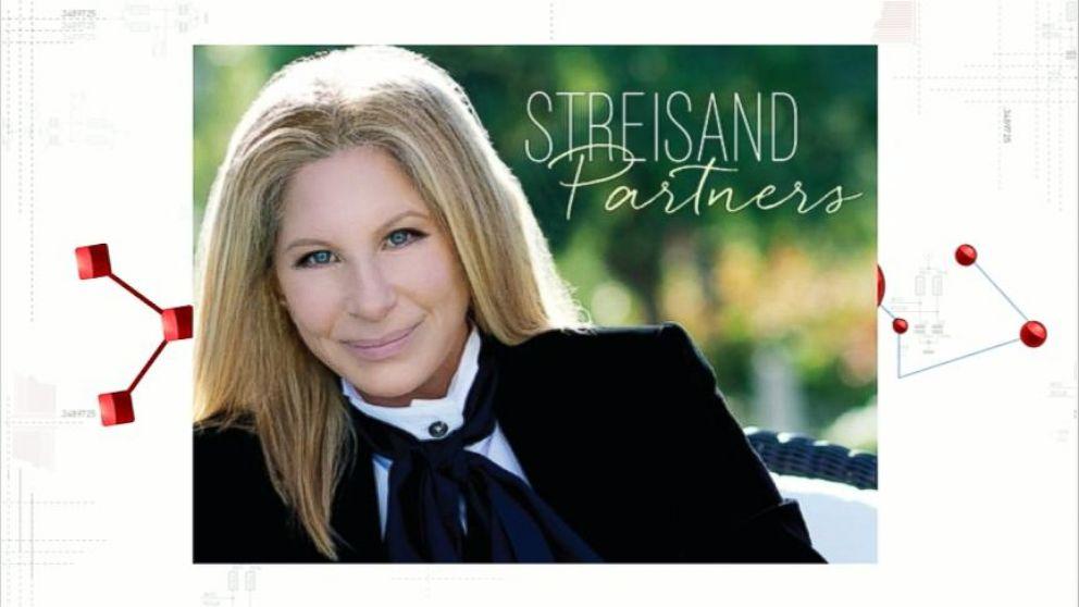 Barbra Streisand's New Album No  1 on iTunes Album Chart