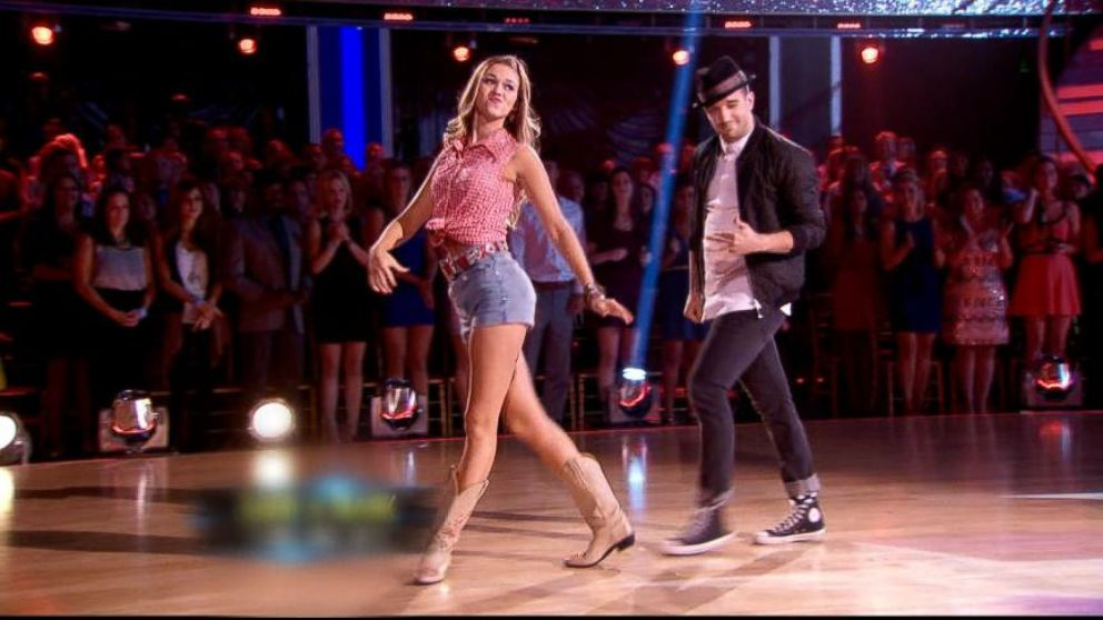 12a888ad90d DWTS  Sadie Robertson Gets Wardrobe Approval From Her Dad Video ...
