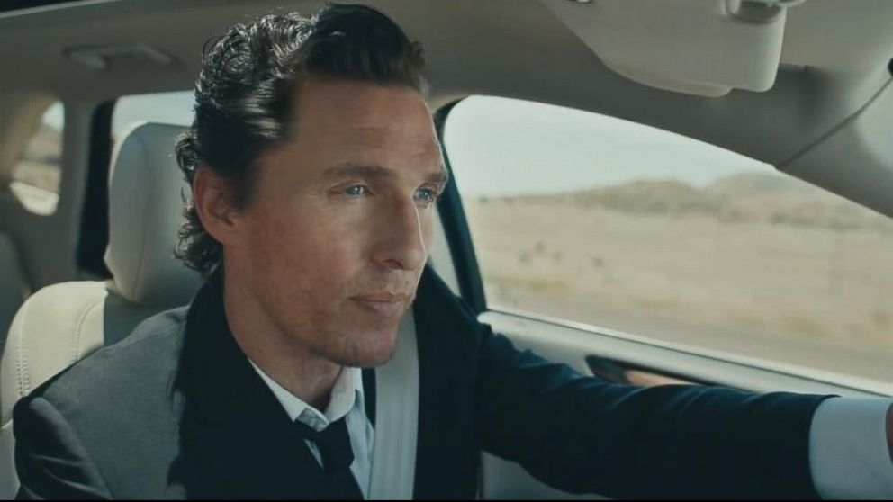 Matthew Mcconaughey S Lincoln Commercials Generate Lots Of Buzz