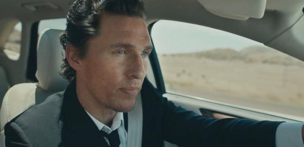 VIDEO: Matthew McConaugheys Lincoln Commercials Generate Lots of Buzz