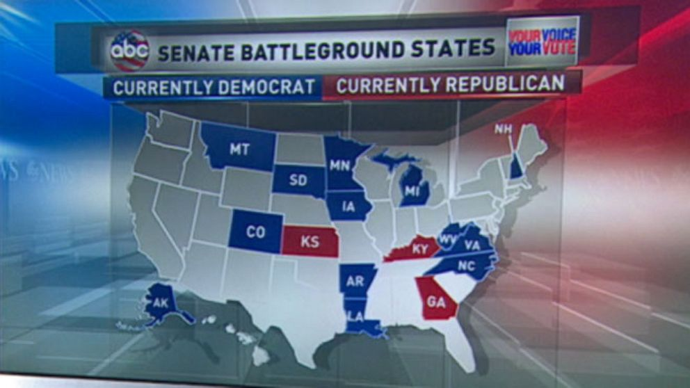 Republicans Projected To Seize Control Of The Senate: 2014 ...