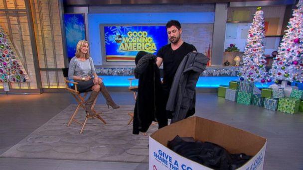 Maks Chmerkovskiy Donates to Warm Coats & Warm Hearts Coat Drive