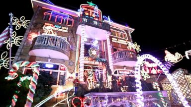 Across America, Christmas Light Wars Rage On Video - ABC News