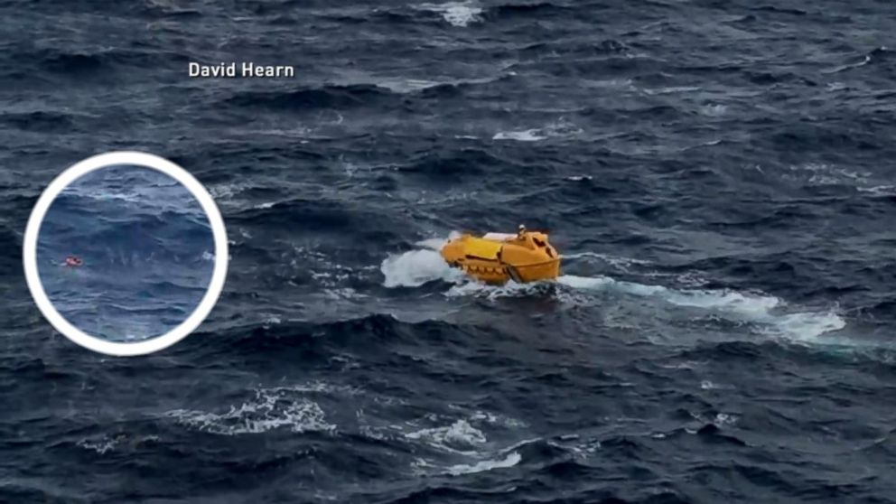 Disney Cruise Ship Saves Caribbean Cruise Passenger Video
