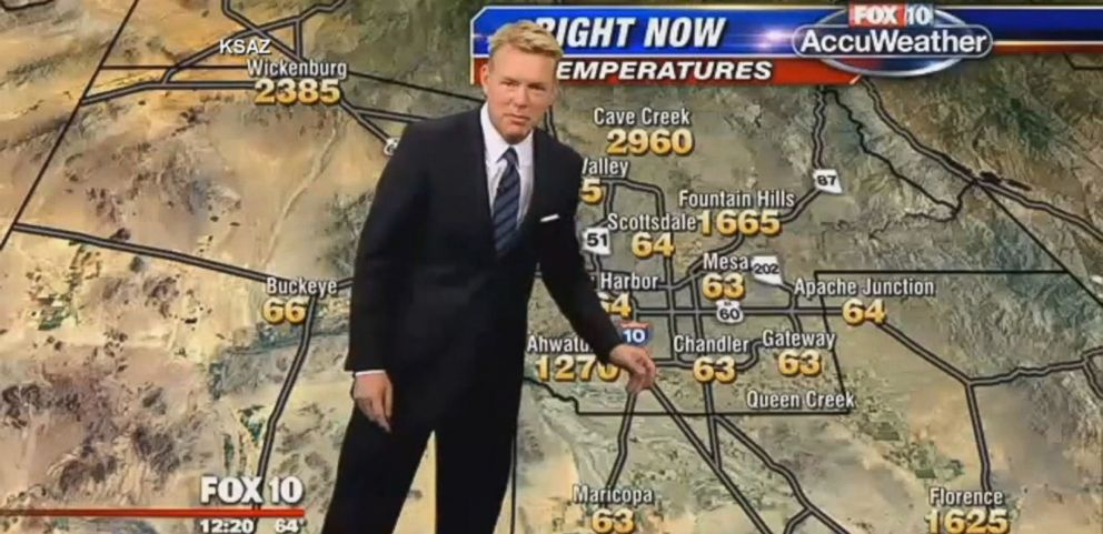 Phoenix Meteorologist Laughs Off Impossibly Hot Forecast