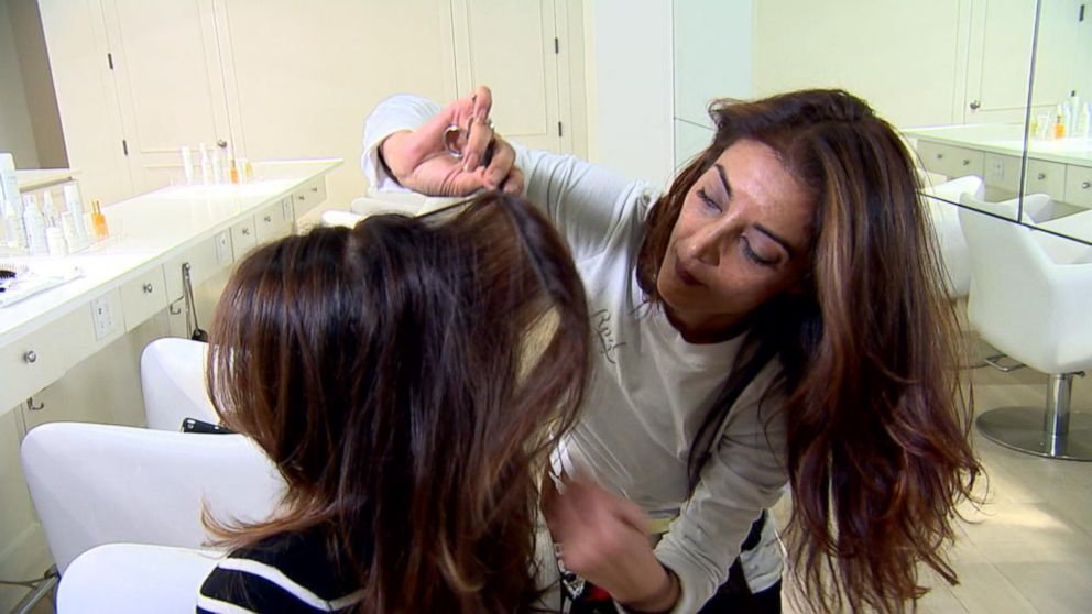 Hair Extensions On The Go Is New Speed Styling Trend Video Abc News