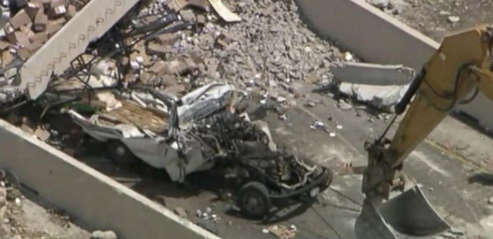 VIDEO: Texas Bridge Collapse Kills 1, Injures 3
